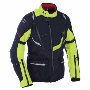 Oxford Montreal 3.0 Breathable Waterproof Textile Jacket Black/Fluo